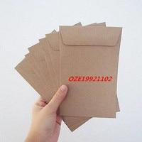 50 Kraft Envelopes Paper Card 12 7cm X 20 3cm 5 X8 Inch 110gsm Recycle Fiber