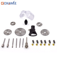 GOXAWEE 21pcs Electric Drill Rotary Tools Mini Drill Tools For Woodworking Drill Bit Set Wood Tools