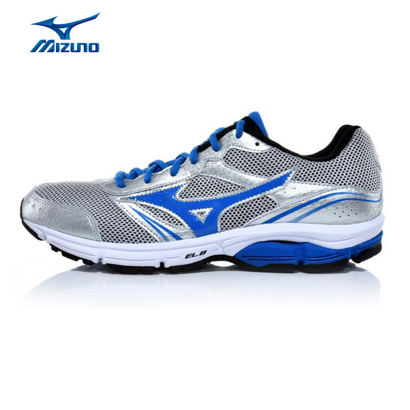 MIZUNO Men WAVE IMPETUS 3 Mesh Breathable Support Cushioning Jogging Running Shoes Sneakers Sport Shoes J1GE151302 XYP331 кроссовки mizuno кроссовки wave impetus 3