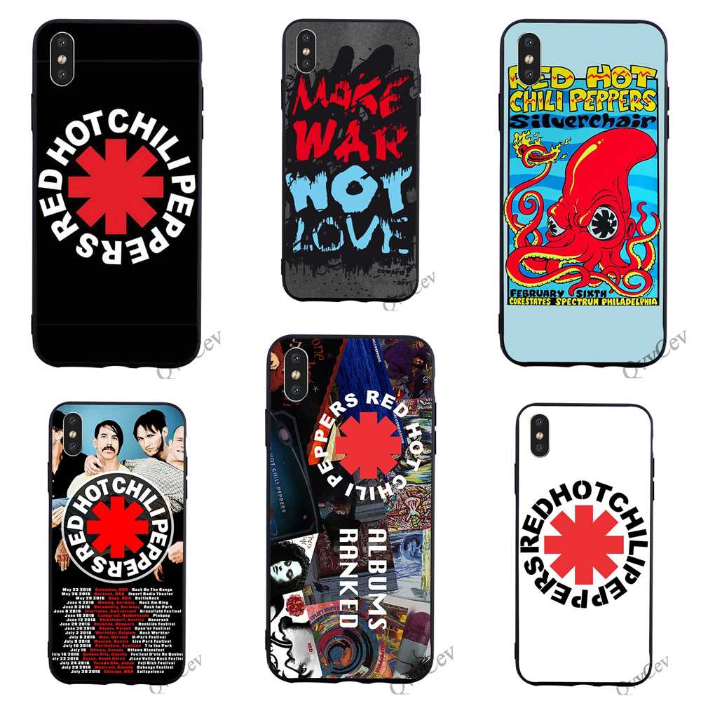 top 10 largest red hot chili peppers iphone 5 cover ideas and get ...