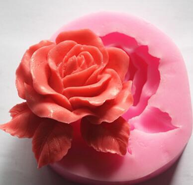 de Silicone 3D Mini Flor Handmade Soap