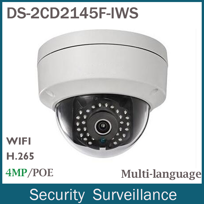 New Arrival IP Wifi font b Camera b font DS 2CD2145F IWS 4MP 2560x1440 H 265