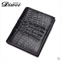 diwei 2017 new hot free shipping man purse men crocodile wallet brief paragraph youth personality wallet authentic men wallet