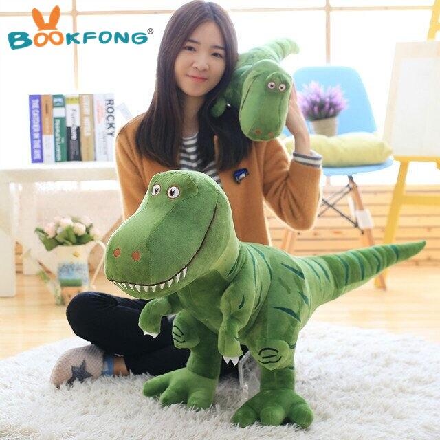 Neue Dinosaur Cartoon Plüschtiere Tyrannosaurus Schöne Kinder Jungen Baby Geburtstagsgeschenk 40/55/70 cm