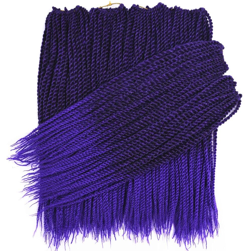 5packs lot sallyhair senegalese crochet twist braids hair 18 2x crochet braids 30roots pack. Black Bedroom Furniture Sets. Home Design Ideas