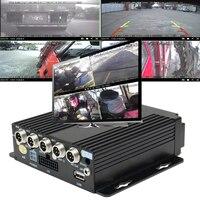 KROAK 4CH безопасности автомобиля Камера автомобиля Автомобильный видеорегистратор безопасности Видео Регистраторы машины Камера + удлинител