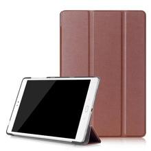 PU Leather-based Cowl Case for ASUS ZenPad 3S 10 Z500M Pill PC Case Good Folio Tri three Folding Stand Case for Asus Zenpad 3S Z500M