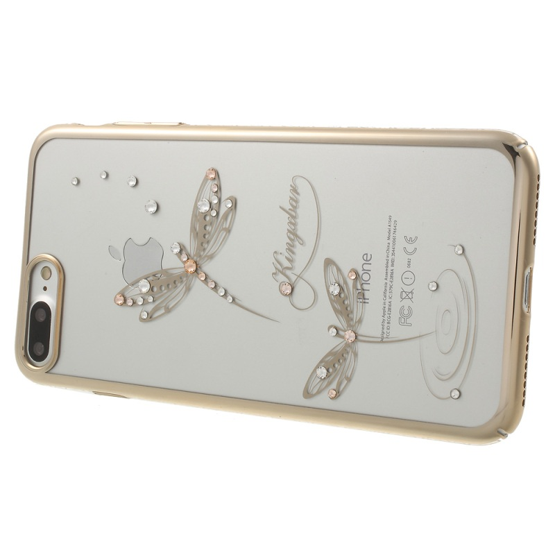 For iPhone7Plus KINGXBAR Swarovski Crystals Plating PC Back Case for iPhone 7 Plus 5.5-inches