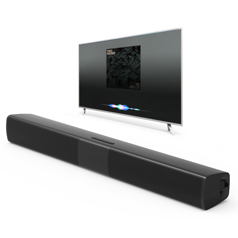 New BS-28B TV Bluetooth Speaker 20W Soundbar Home Theater Wireless 3D Surround Stereo Bass Subwoofer Portable Speakers For Phone