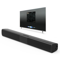New BS 28B TV Bluetooth Speaker 20W Soundbar Home Theater Wireless 3D Surround Stereo Bass Subwoofer Portable Speakers For Phone