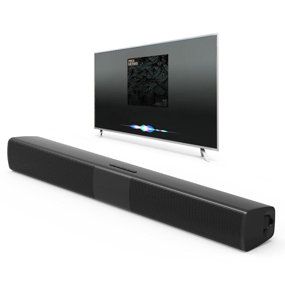 Nouveau BS-28B TV Bluetooth haut-parleur 20 W barre de son Home cinéma sans fil 3D Surround stéréo basse Subwoofer haut-parleurs portables pour téléphone