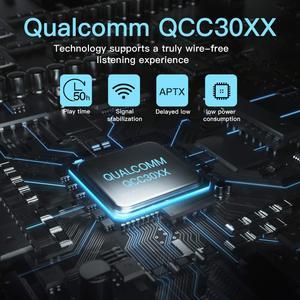 Image 4 - SYLLABLE auriculares S101 con chip QCC3020, dispositivo resistente al agua, con control de volumen, bajos, compatible con apt x, Bluetooth, 2020