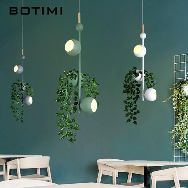 BOTIMI Dekorative LED Anhänger Lichter Für Wohnzimmer Moderne ...
