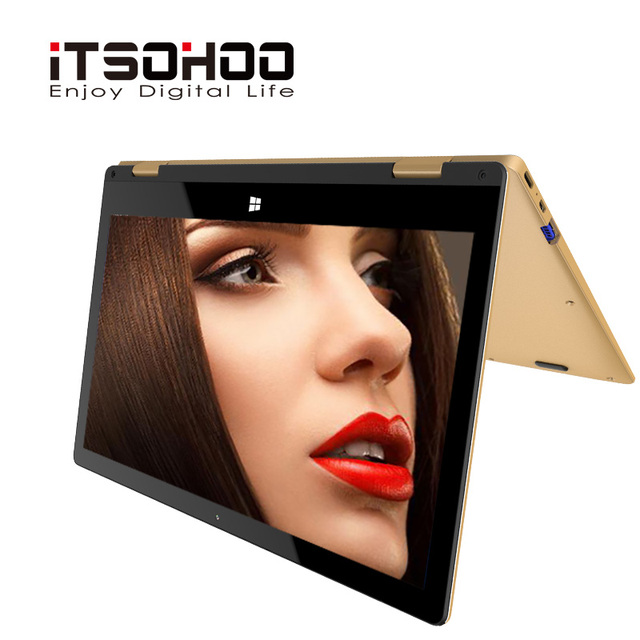 11.6 inch touchscreen convertible tablet laptop iTSOHOO 360 degree rotating laptops  intel   Notebook computer 1
