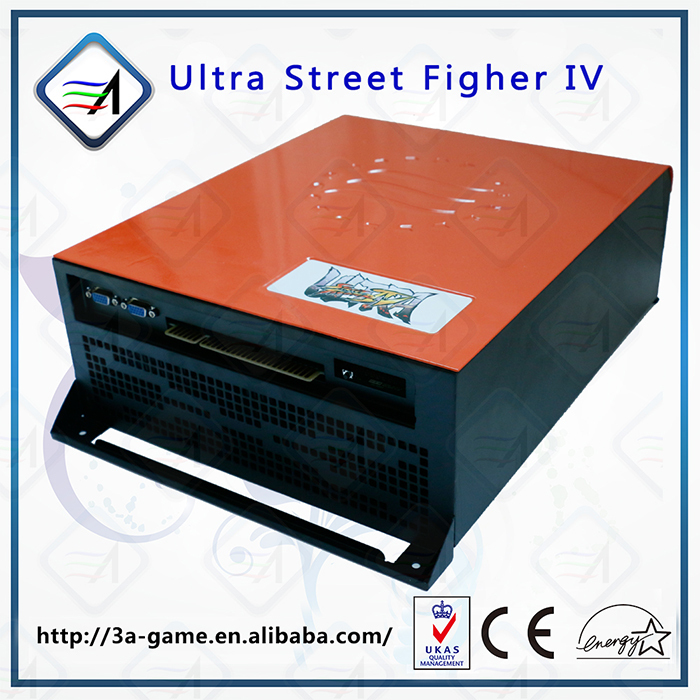 Coin Pusher Type Arcade Machine Mother Board Ultra Street Fighter IV Jamma PCB Game Machine Board image