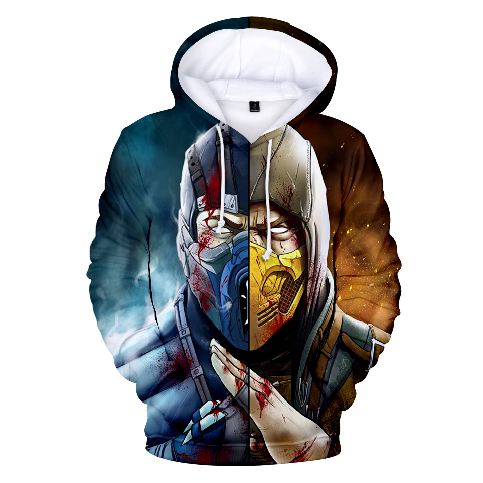 Mortal Kombat 11 3D Print Hoodies Male/Female  Fashion Long Sleeve Comfortable Hooded Sweatshirt Couple Harajuku Hoodie