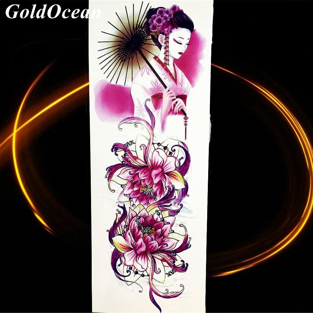 Aliexpress Buy Peacock Fish Carp Lotus Flower Buddha Tattoo
