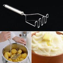 Прочный из нержавеющей стали, волнообразный прессованный Толкушка для фруктов овощерезка дробилка для ресторана Кухонные гаджеты Инструменты