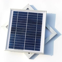 4.5W 16V Solar Cell Polycrystalline Solar Panel DIY Panel Solar Power For 12V Battery Charger System 2pcs/lot Free Shipping