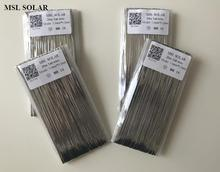 MSL SOLAR 1.6mm*0.2mm Solar cell Tabbing wire for DIY solar panel. Copper welding strip.Solder wire. 80meter/Lot