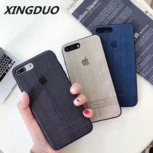 XINGDUO 5 color simple style Apple mobile phone shell for iphone 6 6S 7 8 Plus X XS XR MAX Fashion