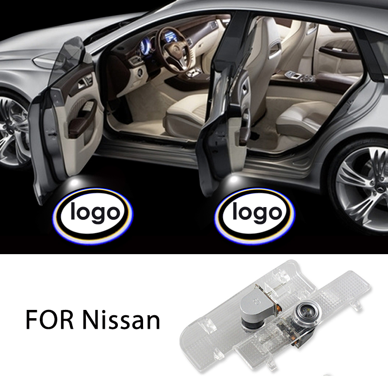 Signal Lamp Automobiles & Motorcycles 2x Led Car Door Courtesy Laser Welcome Projector Logo Ghost Shadow Light For Nissan New Teana 2013 2014