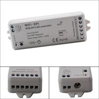DC5V 24V RGB WiFi SPI LED Controller Support WS2812B TM1809 TM1812 LPD6803 WS2801 WS2811 UCS1903 TLS3001 IC for Pixel led Strip