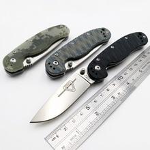 Jssq modelo de rato 2 faca dobrável AUS 8 lâmina tático bolso faca acampamento ao ar livre ferramentas edc sobrevivência caça resgate facas oem