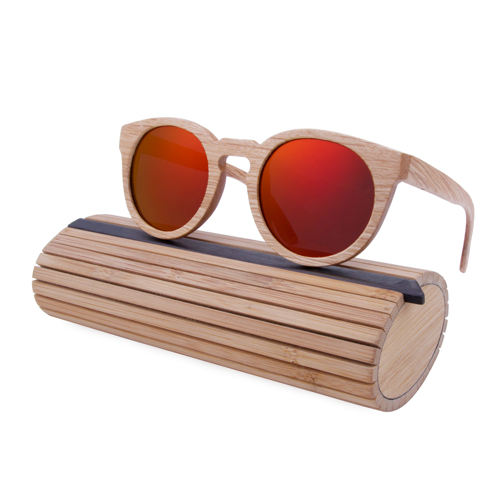 BerWer New font b Fashion b font Wooden Sunglasses Bamboo wooden sunglasses