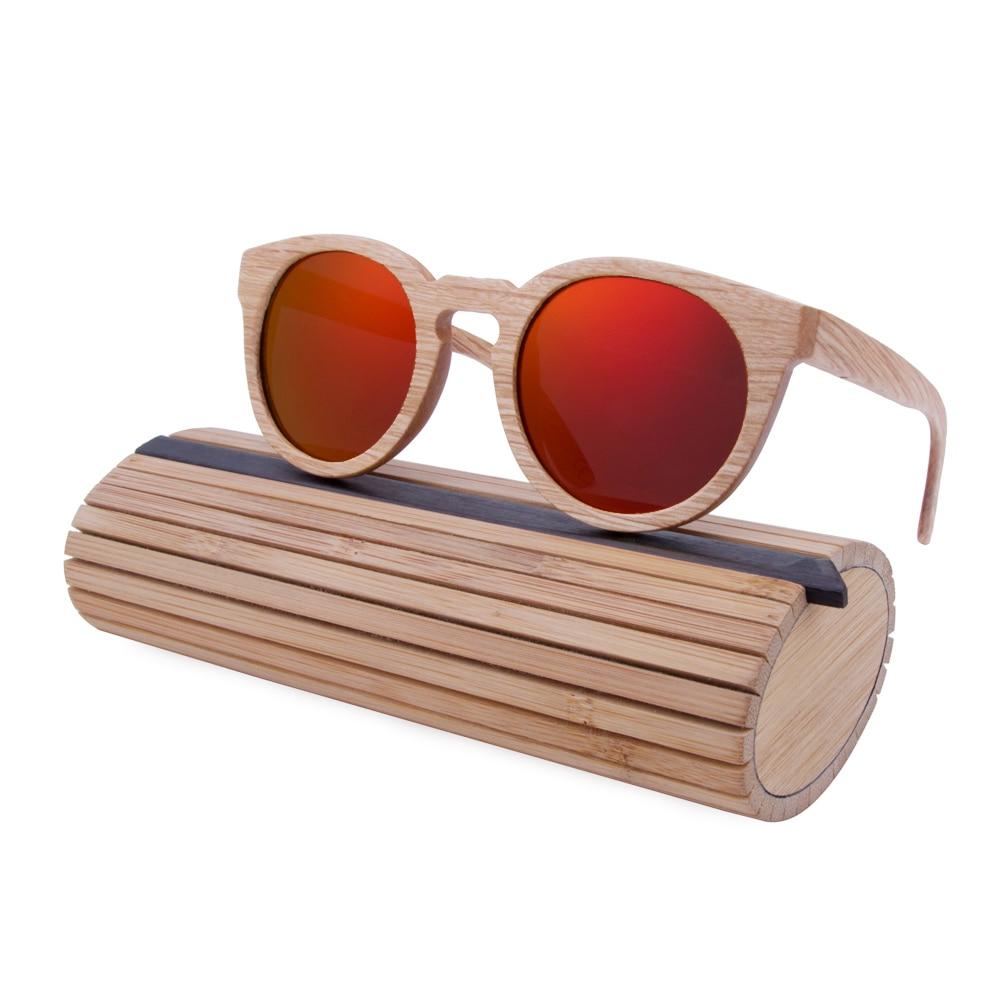 BerWer New font b Fashion b font Wooden Sunglasses Bamboo wooden sunglasses