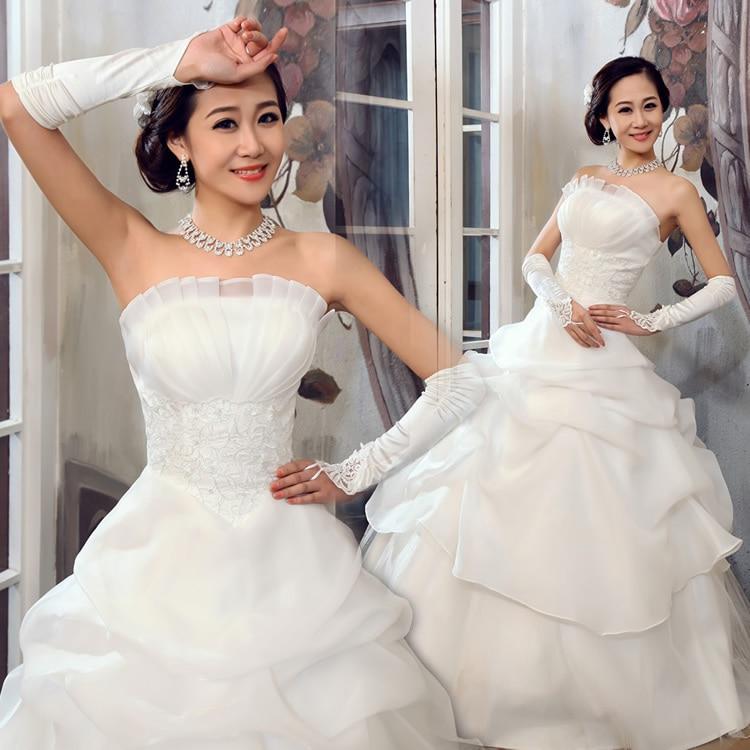 2012 Princess Tube Top Wedding Dress Sweet Elegant Sexy