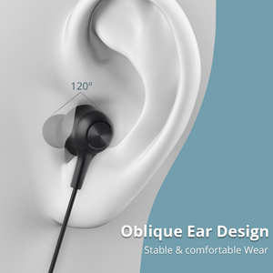 Image 2 - Langsdom L17 bezprzewodowe słuchawki Bluetooth 5.0 słuchawka do telefonu iPhone zestaw słuchawkowy magnes słuchawki douszne z mikrofonem Stereo Bluetooth słuchawki