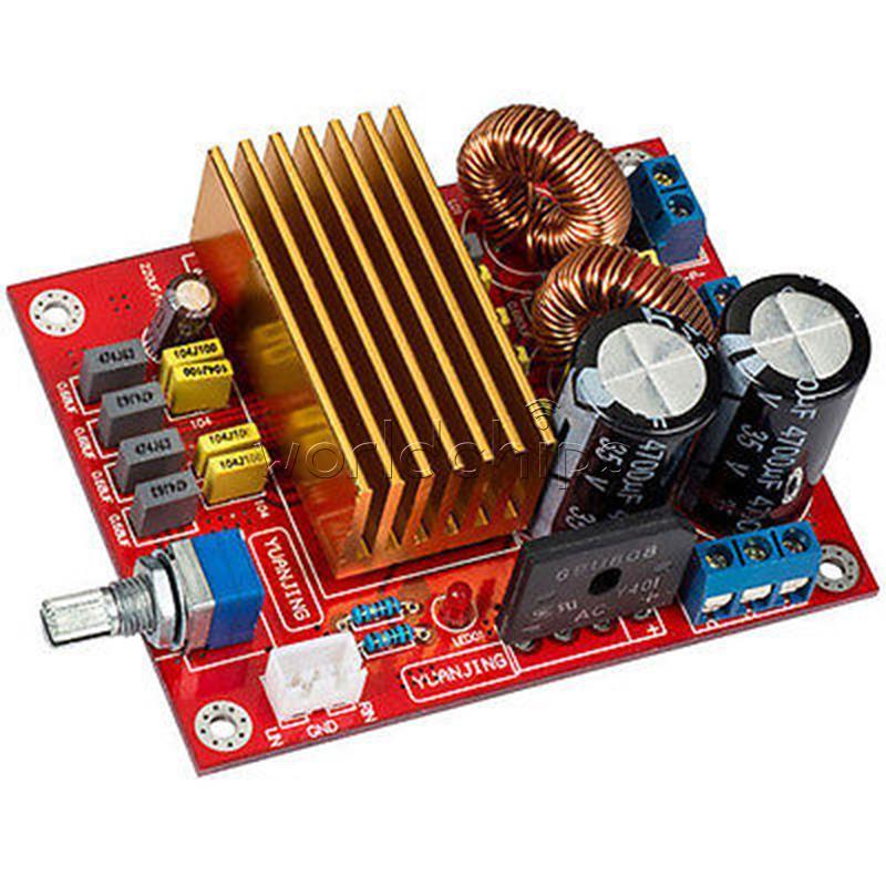 TDA8920 2X100W Class D digital amplifier board High Power Case new HIGH QUALITY