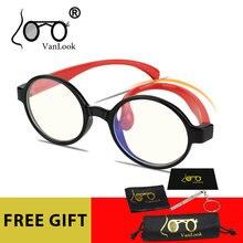 Vanlook Anti Blue Ray Light Blocking Round Kids Screen Glasses for Computer Gamer Kid Boy Girl Child Lunette de Protection Ecran