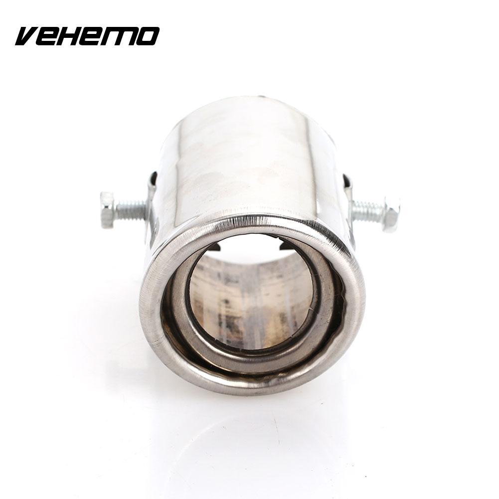 Vehemo диаметр 51-51 мм Глушитель наконечник трубы автомобиля хвост трубы Задний Выхлопной Трубы из нержавеющей стали выход