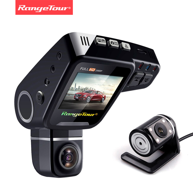 Range Tour Dual Lens Car DVR Dashboard Camera C10s Plus Full HD 1080P 2 0 Inch