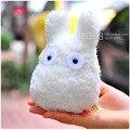 Brinquedos de pelúcia Totoro, boneco branco pequeno adorável, brinquedo rosa kobito dukan, brinquedo para meninas, crianças, bebê tamanho 25cm
