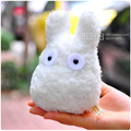 Totoro Plush Toys Kobito Dukan Lovely Small White / Pink Doll  for Kids, Toy Size 25cm