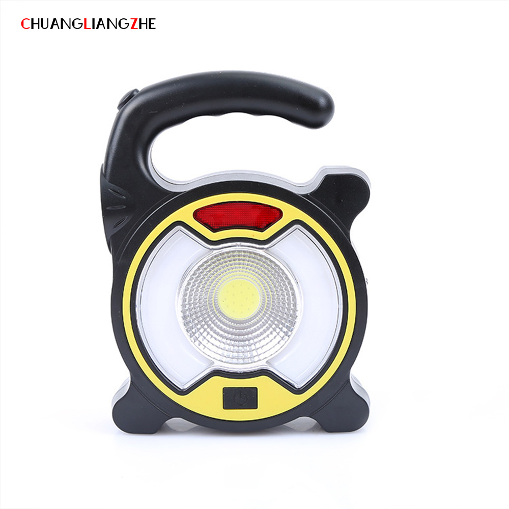 CHENGLIANGZHE Solar Rechargeable Portable Hunting Searchlight Floodlight Portable Outdoor hunting search Camping Light
