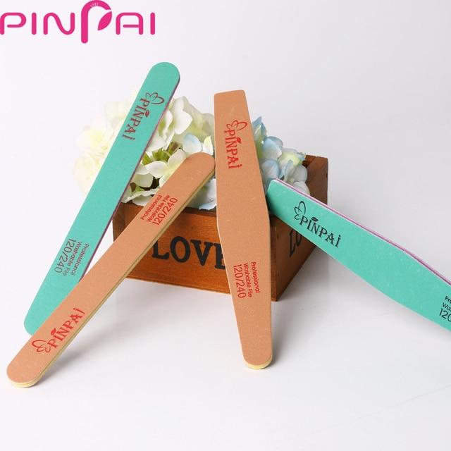 PinPai Professional Rhombic/Round Head Nail Art File 120/240 Grits ...