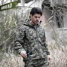 V5.0 TAD Shark Skin Waterproof Military Jackets Men Outdoor Sport Soft shell Hike Hunt Army Tactical Camo Hoodie Jackets цена и фото