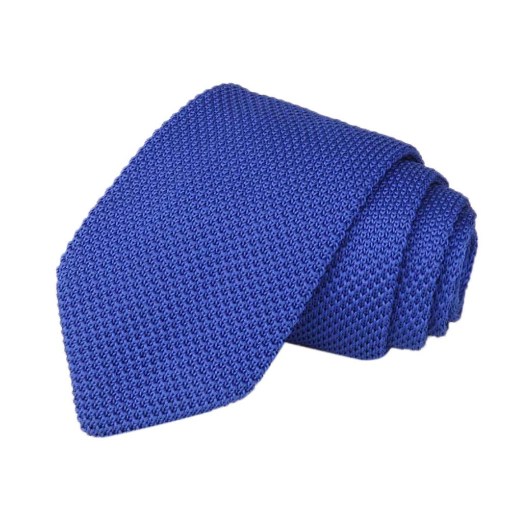 Los Hombres De Punto Crochet Rayas Corbata Boda Fiesta CláSica Corbatas De Cuello 09u68h