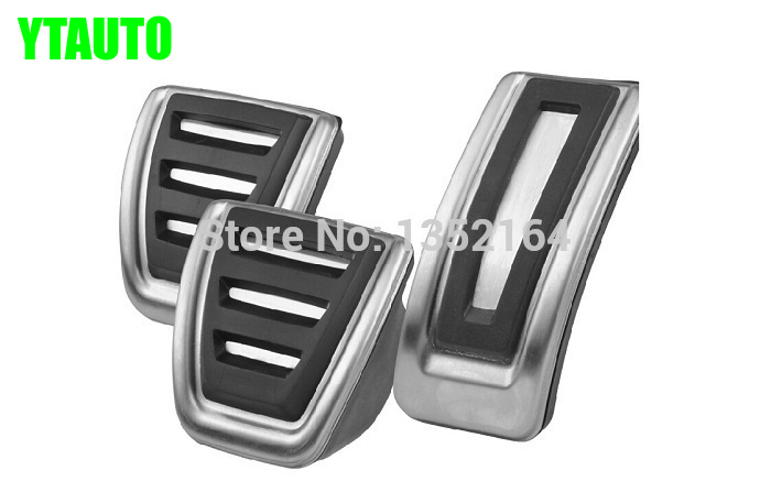 Auto gas accelerator pedal, brake and clutch pedal for volkswagen vw golf 7, MT and AT
