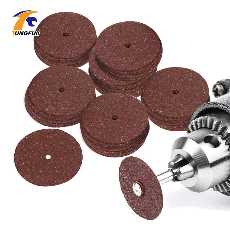 Tungfull Power Tool Dremel Accesories Abrasive Cutting Discs Cut Off Wheels Disc For Dremel Rotary Tools Electric Metal Wood Cut