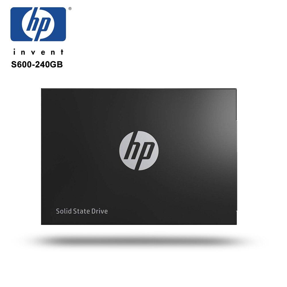 HP SSD 240 gb S600 SATAIII 2.5 3D NAND Haute vitesse jusqu'à 520 mb/s Interne Solid State Drive pour Ordinateur Portable De Bureau HDD ssd 240 gb