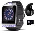 Blutooth dispositivos portátiles de smart watch dz09 reloj de pulsera electrónica para xiaomi samsung teléfono android smartphone salud smartwatch