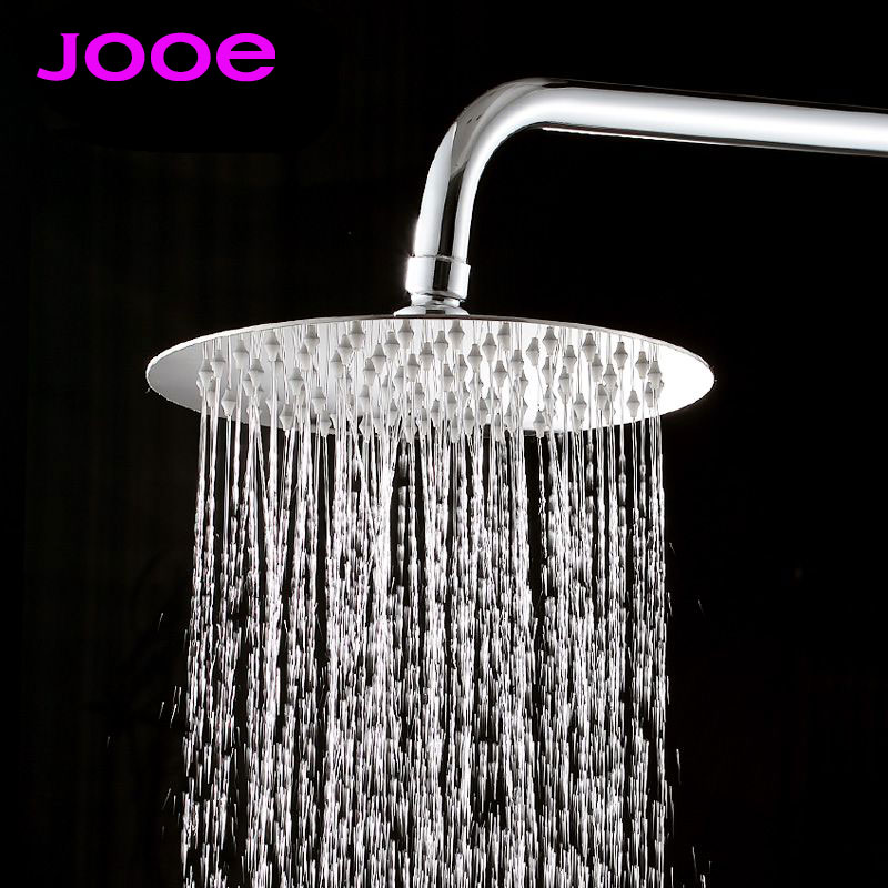 Jooe 6 8 10 12 Rainfall Shower Head And Square Stainless Steel