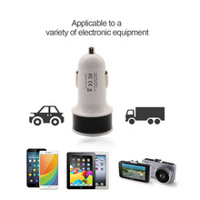 Dual USB Car Charger For Phone 5V 2.1 A Mobile