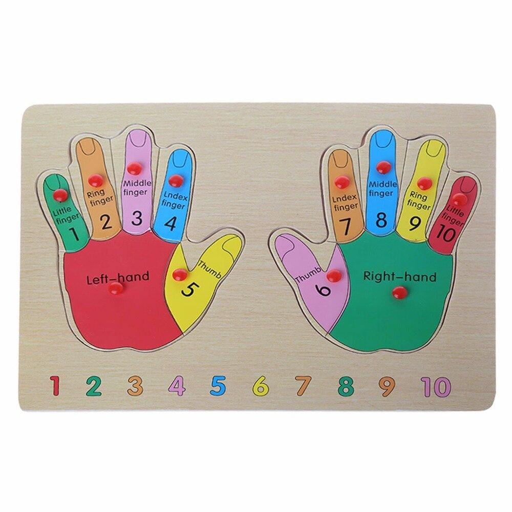 ГБД мизинце познания ручной понимание деревянные головоломки игрушки Раннее развивающие игрушки