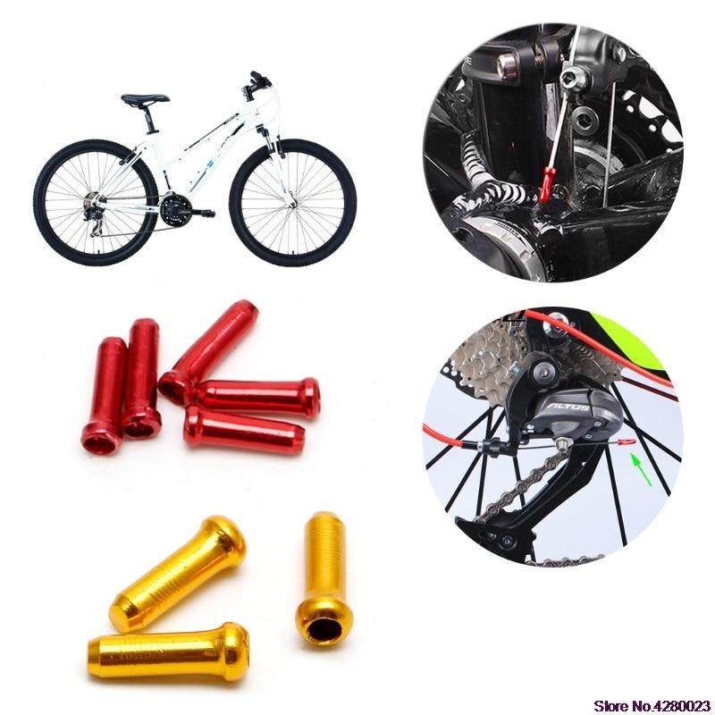 2019 New 30pcs/bag Mtb Bicycles Brake Wire End Core Cap Cable Aluminum Cover Gear Bikes Parts